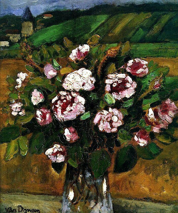 Les Roses mousses Kees Van Dongen - circa 1911-1912