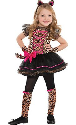 Toddler Girls Precious Leopard Costume @ Party City  sc 1 st  Pinterest & Toddler Girls Precious Leopard Costume @ Party City | Spooky ...