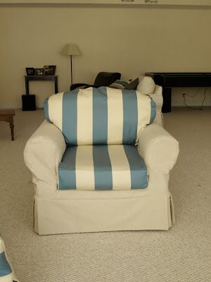 How To Slipcover A Chair The Easy Way! | Less Than Perfect Life Of Bliss