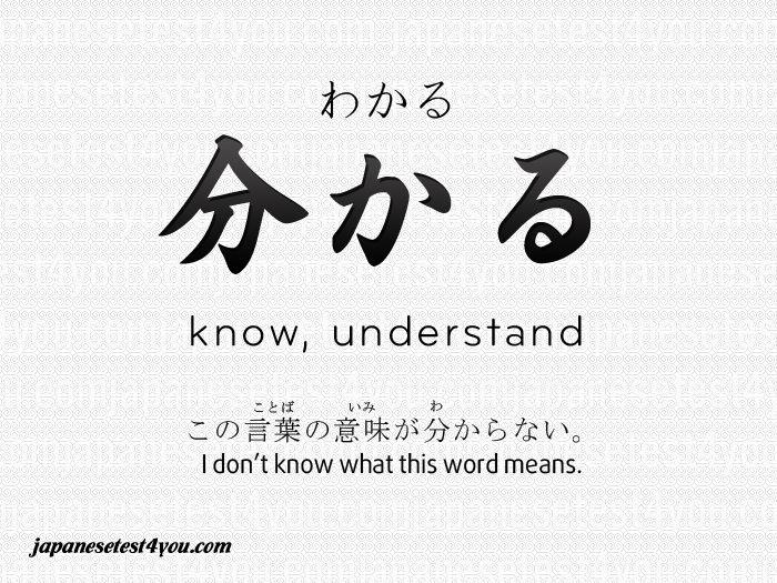 Learn Japanese Vocabulary Flashcard 252