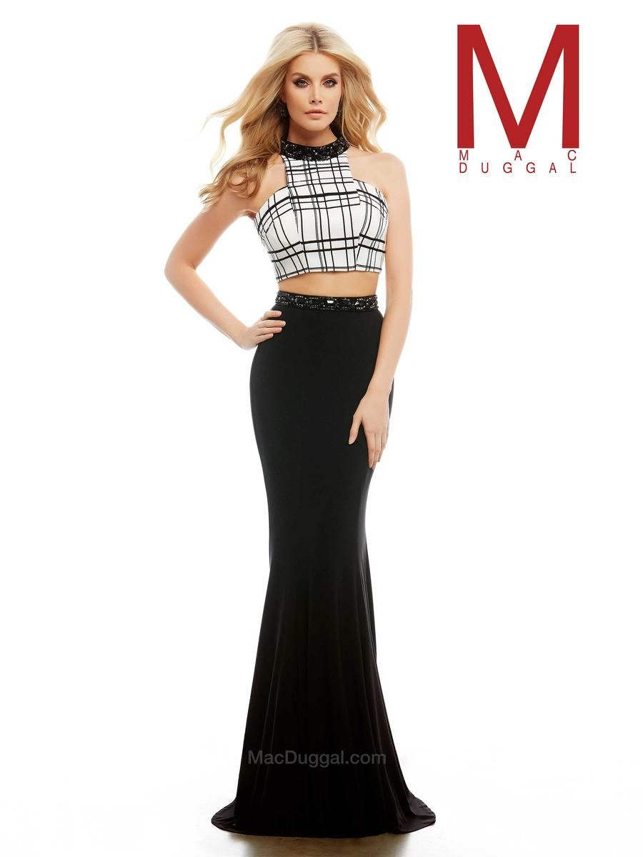 Black and White Two Piece Crop. 74 East Main St. Buford GA 30518 Phone: 770-831-8795
