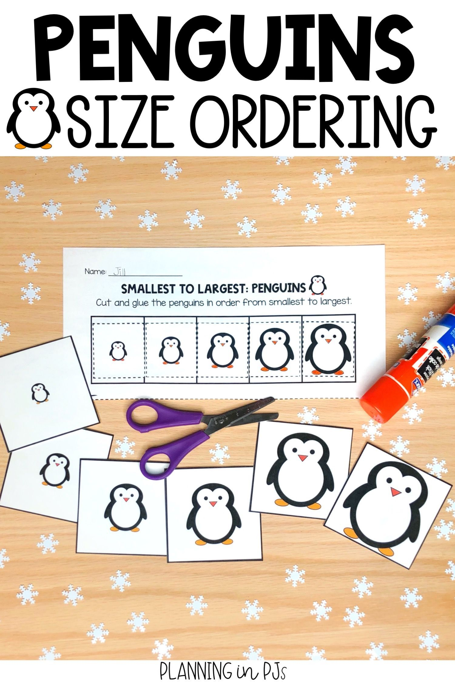 Penguins Size Ordering From Smallest To Largest In