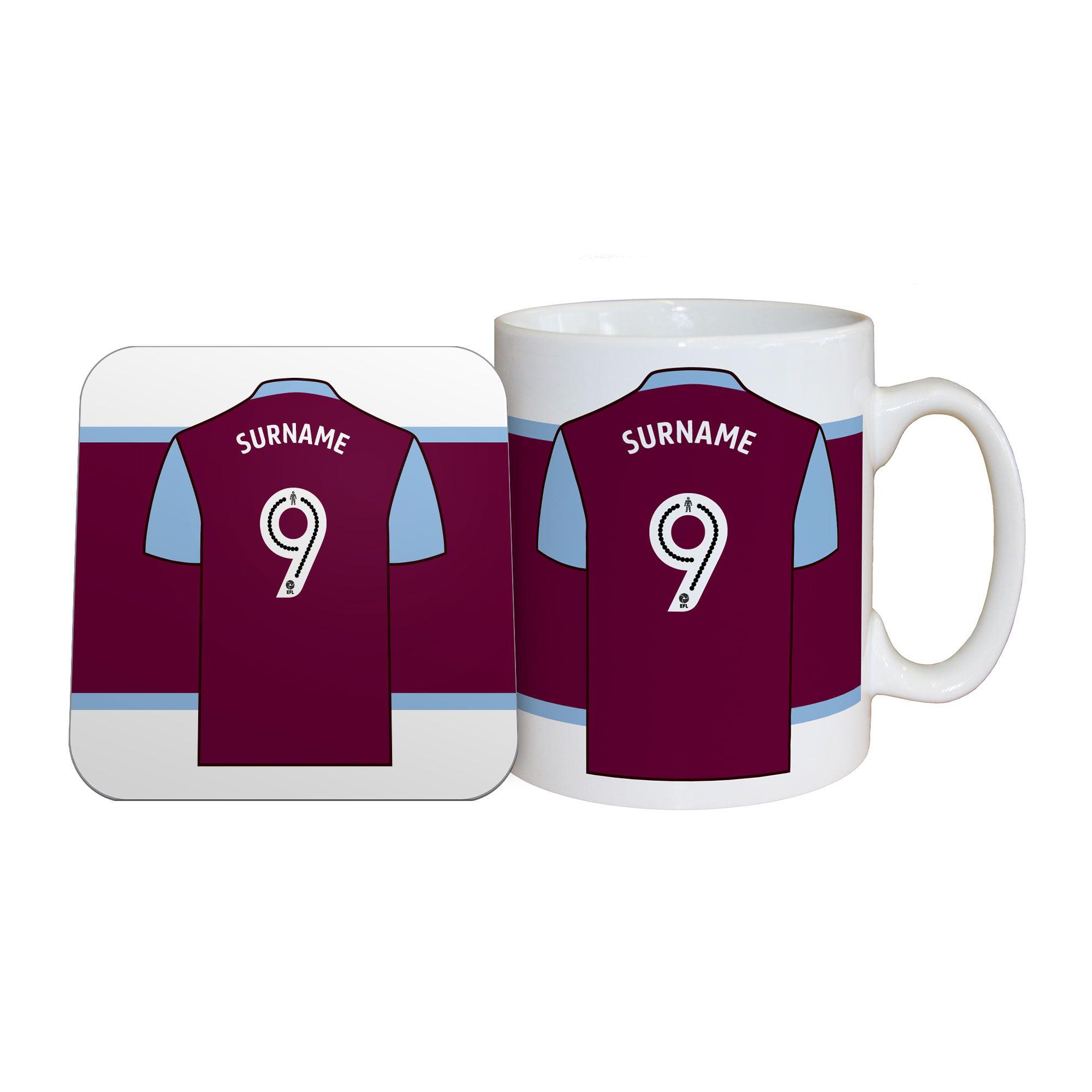 Aston Villa F.C Personalised Ceramic Mug EAT, SLEEP, DRINK