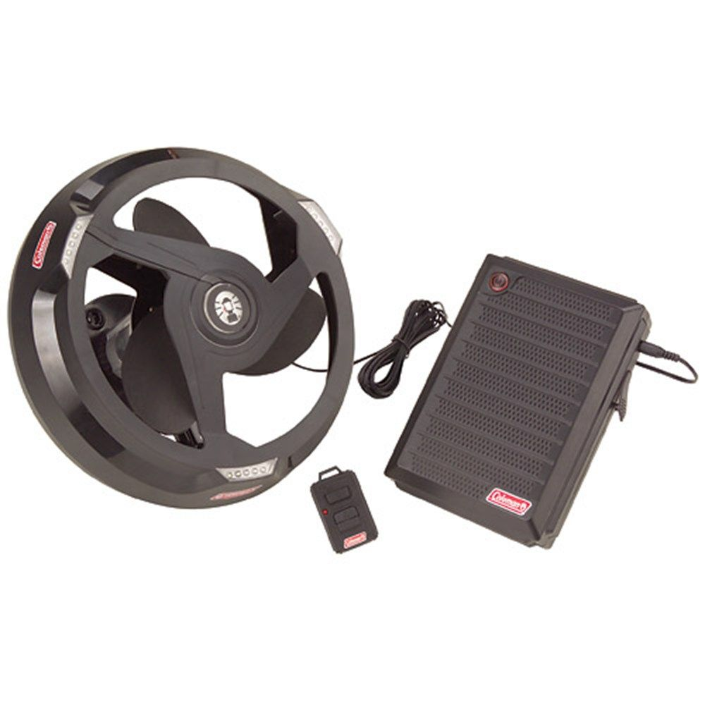 Tent Power System with Fan