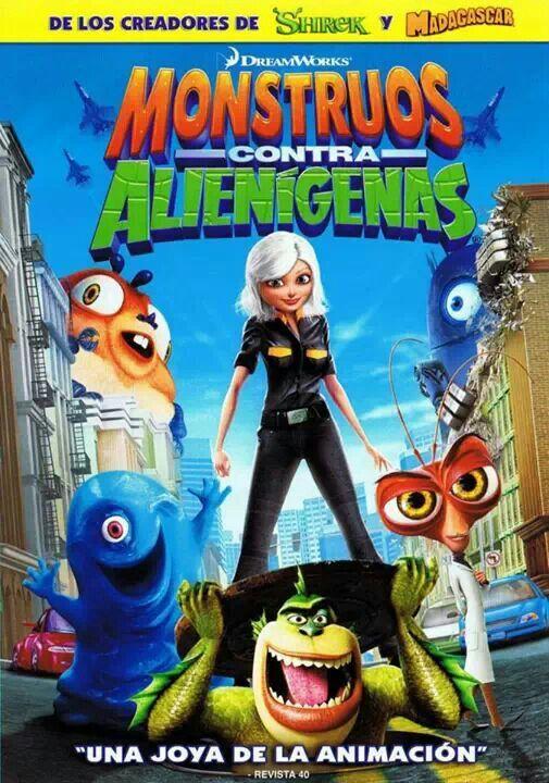 Monstruos Vs Alienigenas Peliculas Completas Gratis Peliculas Completas Peliculas De Disney