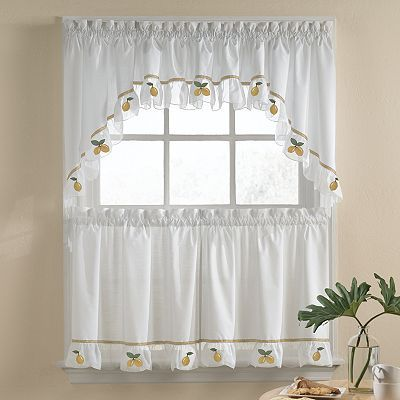 Lovely Lemon Kitchen Curtains