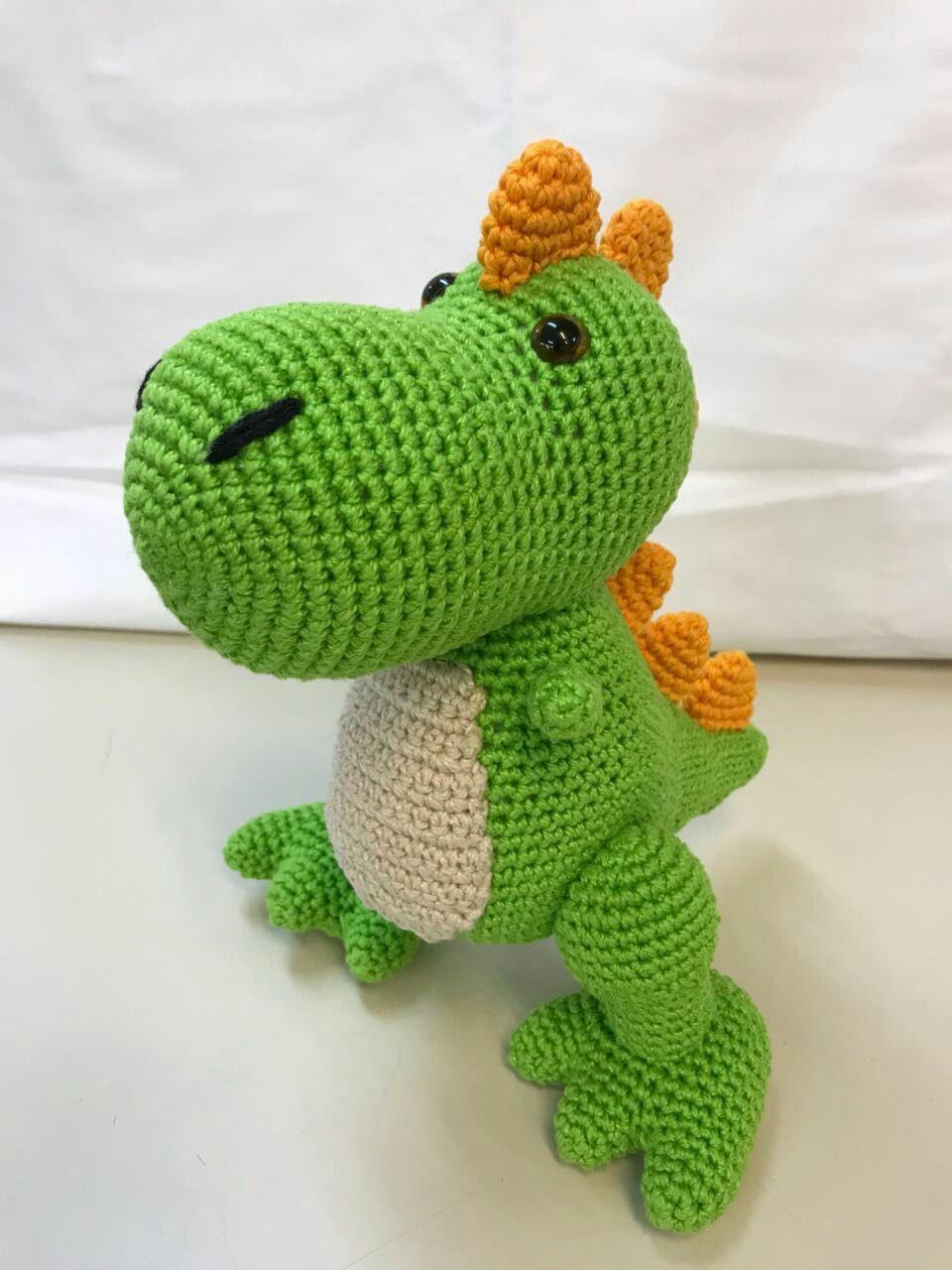 38 Receitas Amigurumi Dinossauro Em Português - R$ 63,93 em Mercado Livre   1280x960