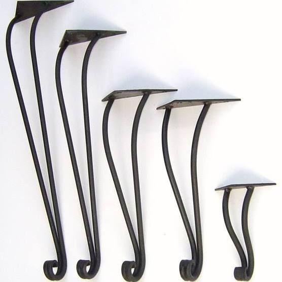 Wrought Iron Coffee Table Legs Wrought Iron Table Legs, Metal Table Legs, Iron  Furniture