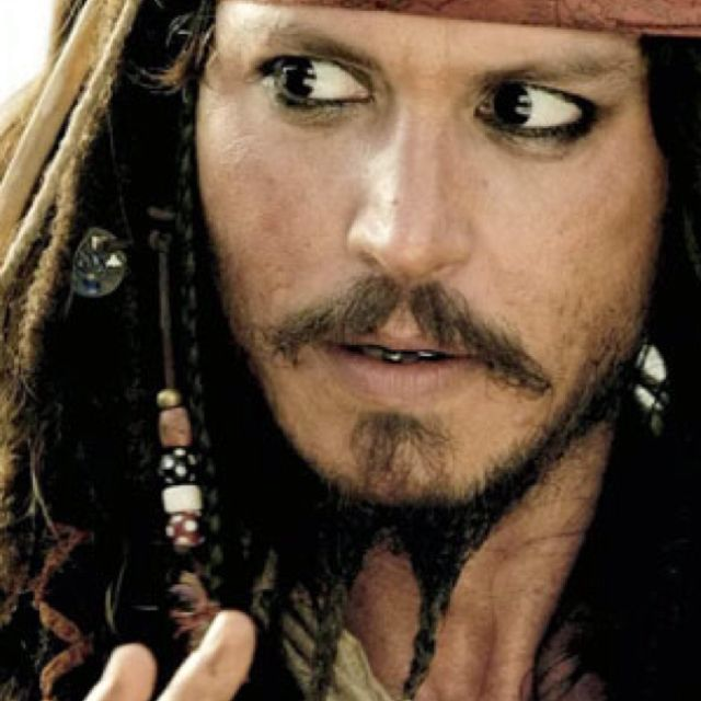 Johnny Depp: Captain Jack Sparrow
