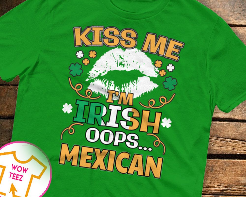 St Patrick/'s Day T-Shirt Men/'s 100/% Paddy Plastic Irish Patriotic T-Shirt Funny