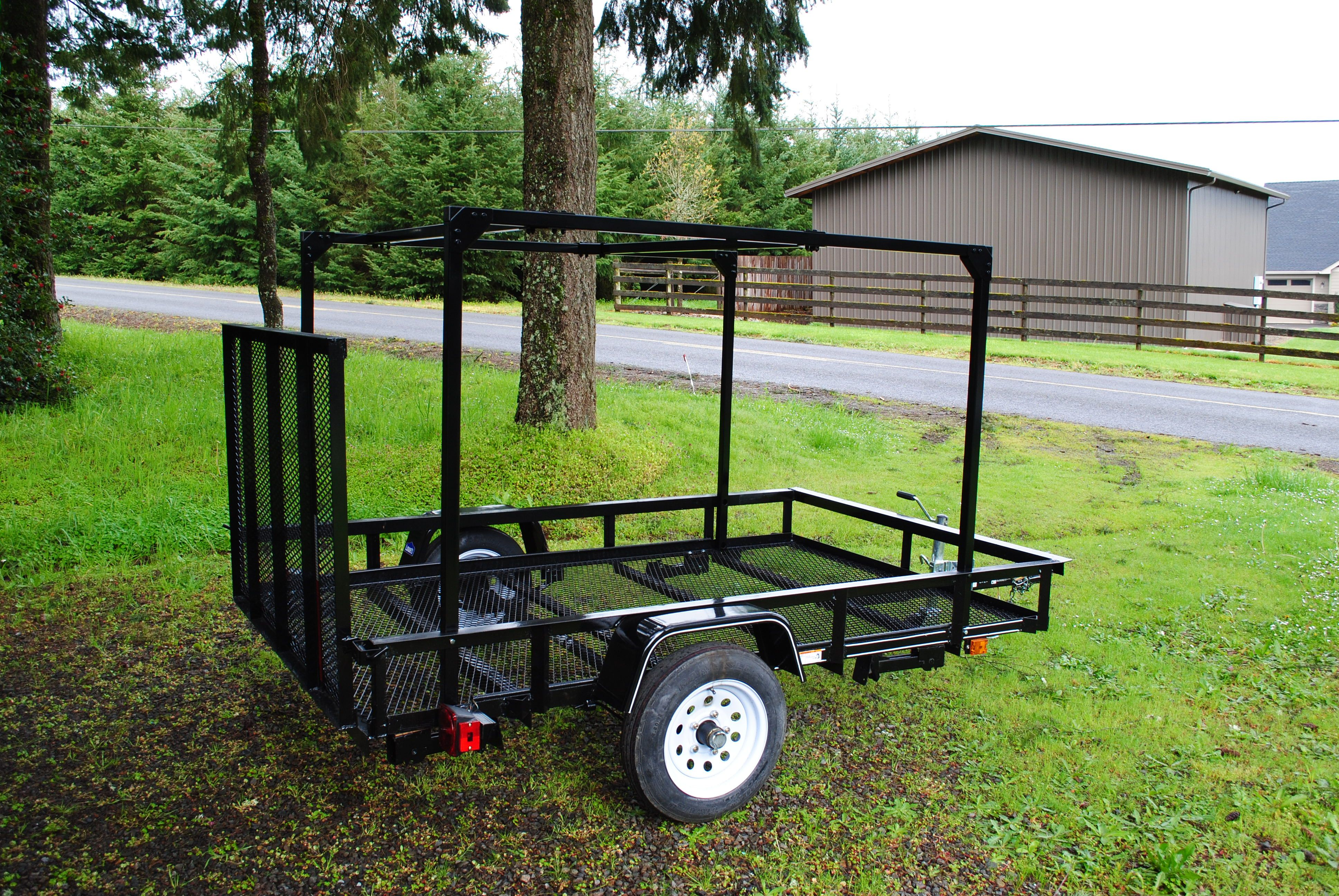 here is a carry on utility trailer with