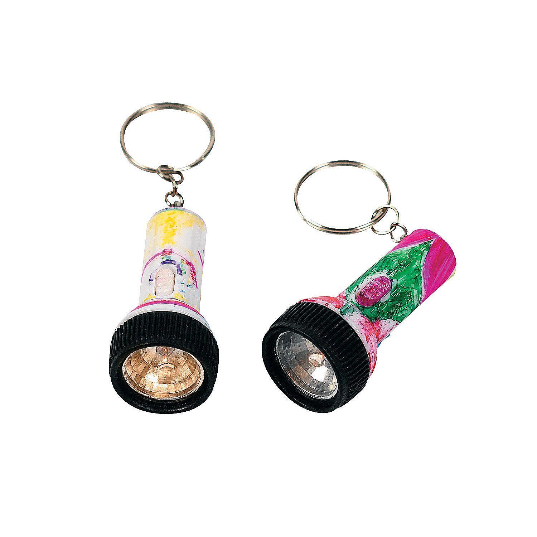 Diy mini flashlight keychains flashlight key chains and minis doll crafts solutioingenieria Choice Image