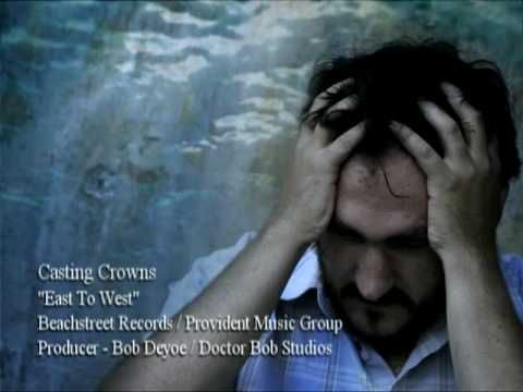 Casting Crowns - East to West  I always thank Him when I hear this.  It is my story, my daily battle, and my ever-present hope and relief...