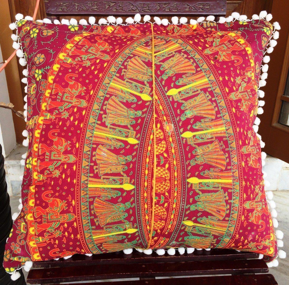 Large elephant euro sham cushion cover x
