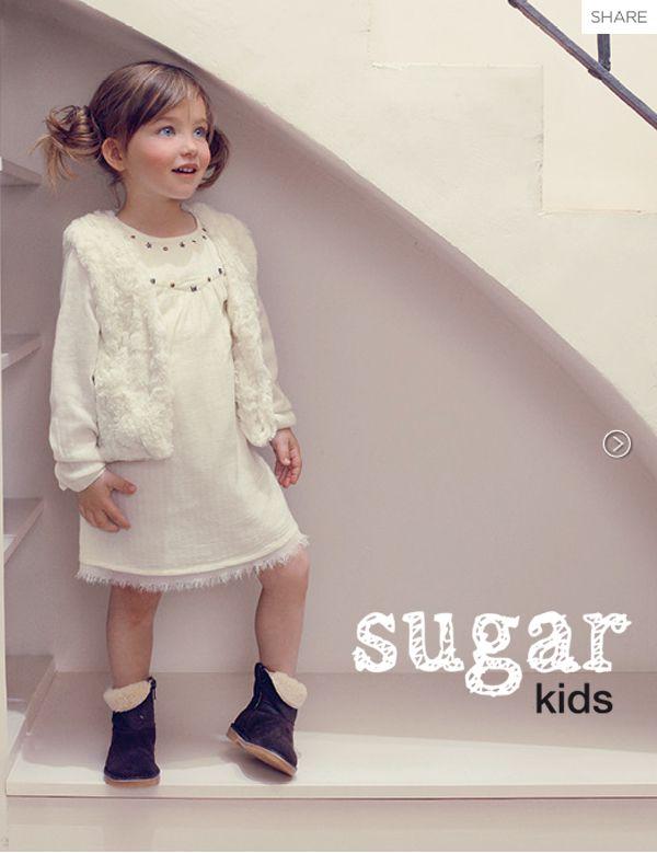 Alexia de Sugar Kids para Mango Kids