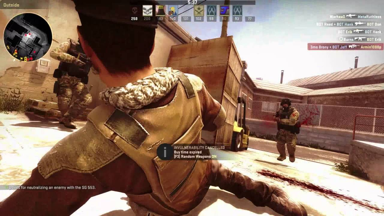 COUNTER STRIKE GLOBAL OFFENSIVE (CS GO) STEAM ONLINE MULTIPLAYER
