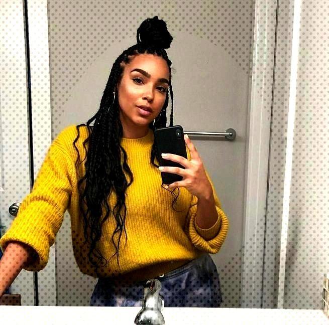 The Boho Braids, the new trendy hairstyle! - My Afro Dressing Table ...  - jumbo box braids -