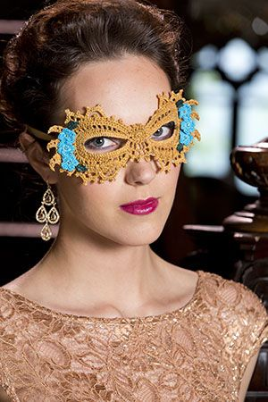 Mardi Gras Masks | Red Heart