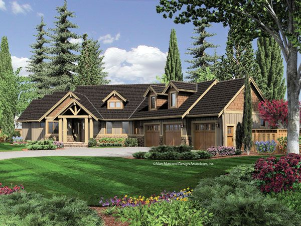 House Exterior Craftsman Style House Plans Craftsman House Craftsman House Plans