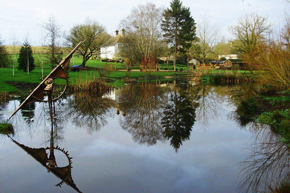 Surrey and Hampshire Lake Gardens