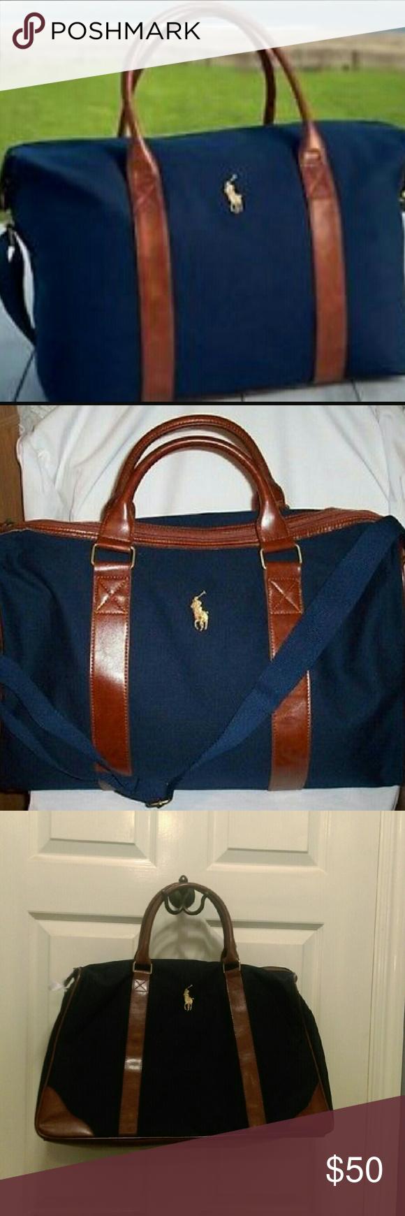 Used Travel Overnight Ralph New Been Gym Polo Bag Never Pony Lauren lFJc1TK