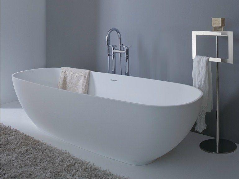 vasca da bagno ovale in tecnoril aqua arlex