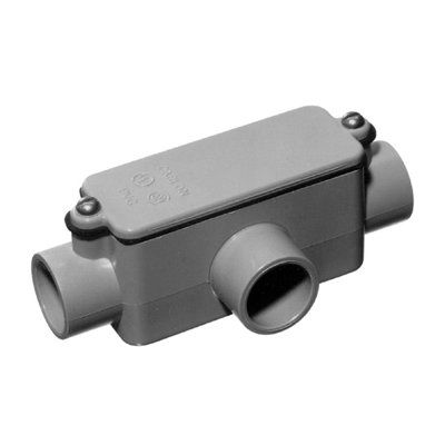Carlon Conduit Fitting Tbody 050 1 2 In Pvc Transition Pvc Fittings Pvc Conduit Electrical Conduit Fittings