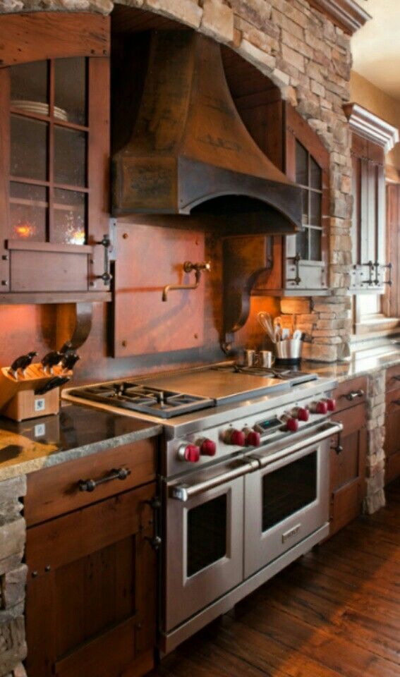 Rustic style   Kitchen   Pinterest   Casas