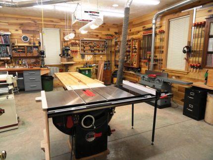 A Beautiful Woodshop Woodworking Shop Pinterest Woodworking