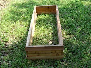 Simple Bottomless Cedar Flower Bed Cedar Planters Cedar Planters