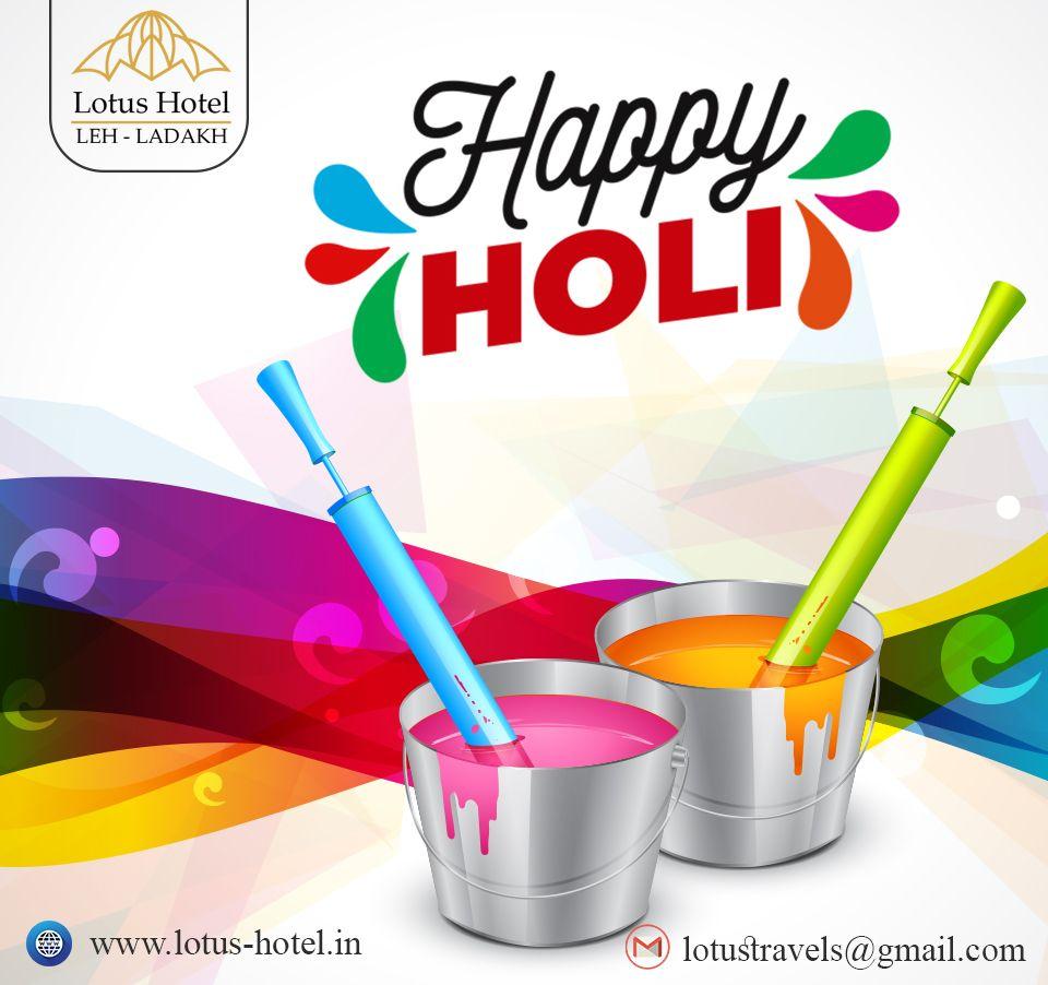 Hotel Lotus, wishing you a very Happy Holi.  #holi #happyholi #india #festival #holifestival #love #colors #colours #color #holipowder #like #festivalofcolors #holifestivalofcolours #holihai #festivalofcolours #holifest #indianfestival #HappyHoli2020