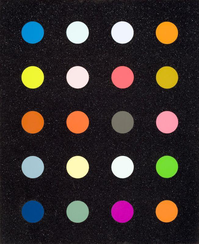 Methylamine 13c By Damien Hirst (Black) | Damien Hirst, Methylamine 13c By Damien Hirst (Black) (2014)
