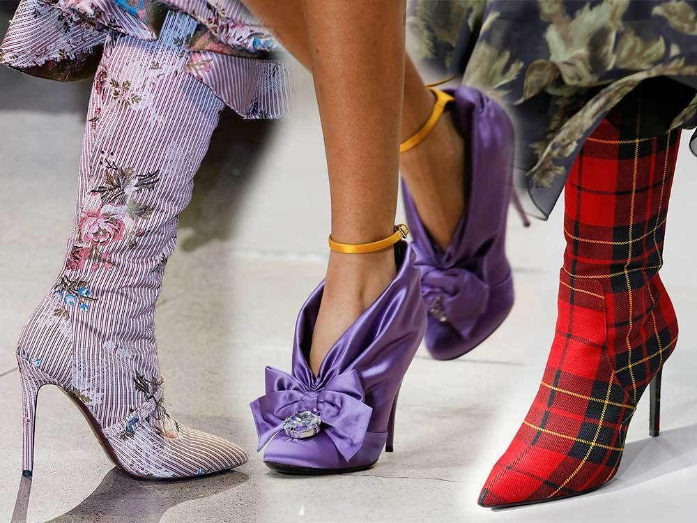b8efd7b3730 Τα Παπούτσια που θα Φορεθούν Φθινόπωρο/Χειμώνα 2018-2019 Οι 20 τάσεις από  τις εβδομάδες μόδας