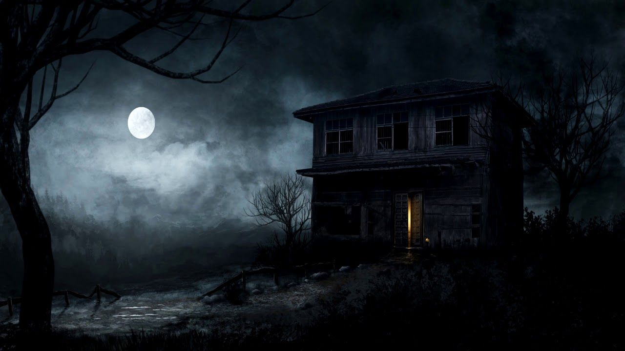 Dark Creepy Music Haunted House Unsettling Horror Music Happy Halloween Youtube Scary Wallpaper Haunted Forest Forest Wallpaper