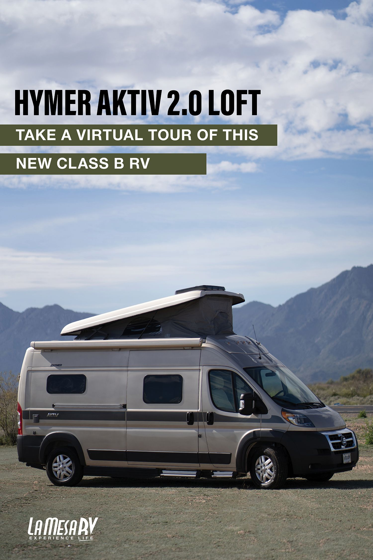 Take A Virtual Tour Of The New Hymer Aktiv 2 0 Loft Edition This