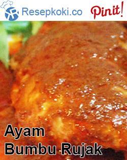 Resep Ayam Bumbu Rujak Resep Ayam Resep Resep Masakan