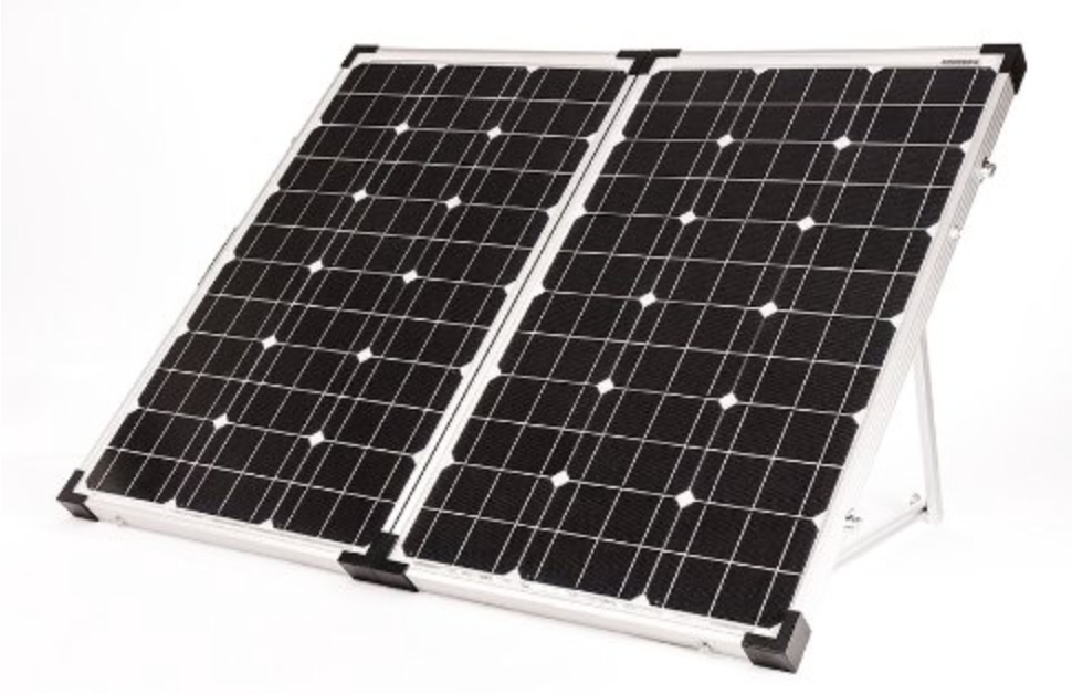 Go Power Gp Psk 120 120w Portable Folding Solar Kit With 10 Amp Solar Solar Panels Portable Solar Panels Solar Kit