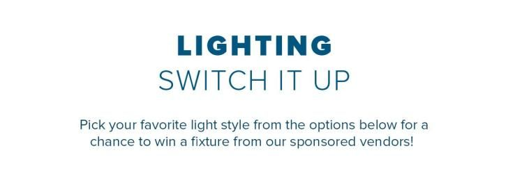 2020 Lighting Switch It Up Giveaway Get a chance to win a light fixture from Ferguson Bath, Kitchen & Lighting Gallery worth $1000! Click the 'View Offer'