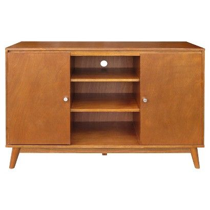Mid Century Modern Large Accent Cabinet  - at Target - use for coffee station?