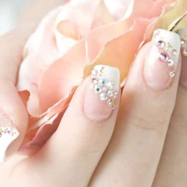 I Like The Design Might Consider Doing Fake Nails For Wedding