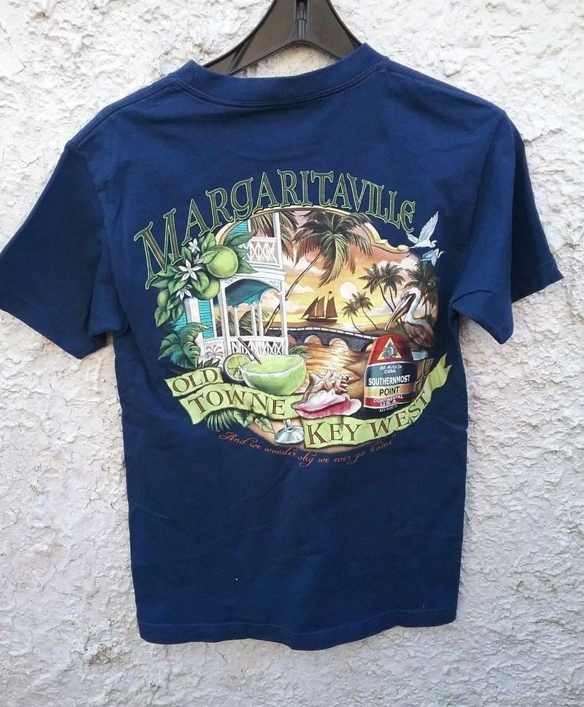 211b1bfd Jimmy Buffett Margaritaville Old Town Key West Shirt Small SS NICE  #Margaritaville #GraphicTee #forsale #vintage #vintagetee #vintageclothing  #vintageshop ...