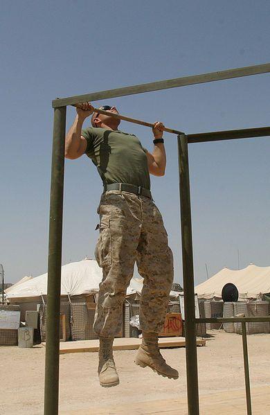 20 Marine Pull-ups - May 2012