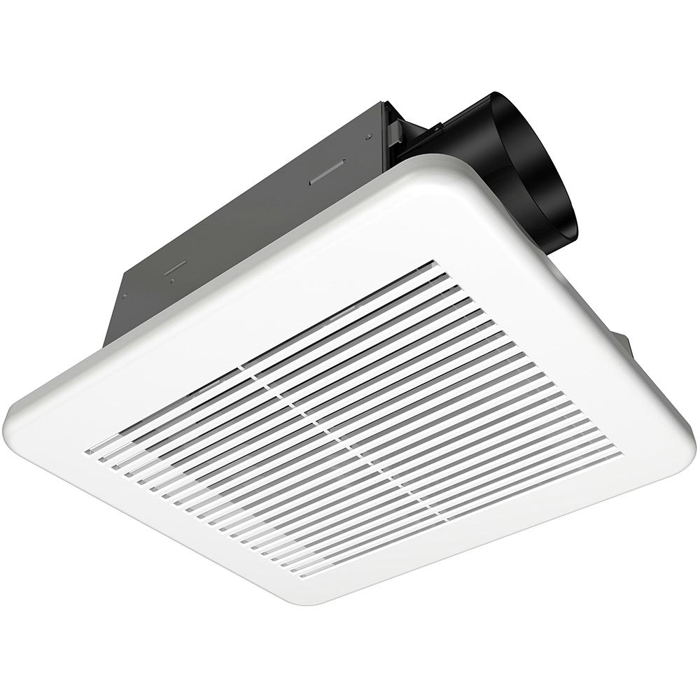 Hampton Bay 50 Cfm Wall Ceiling Mount Roomside Installation Bathroom Exhaust Fan Energy Star 7114 01 Bathroom Exhaust Fan Bathroom Fan Light