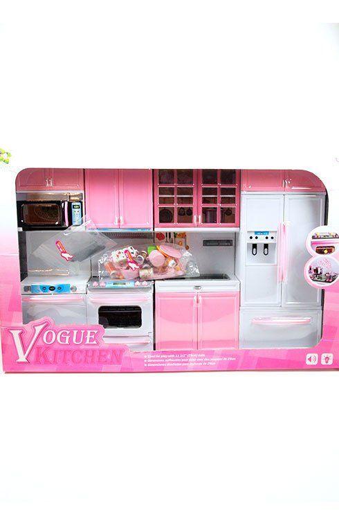 Barbie 4 Piece Vogue Modern Kitchen Set Lower Price Barbie