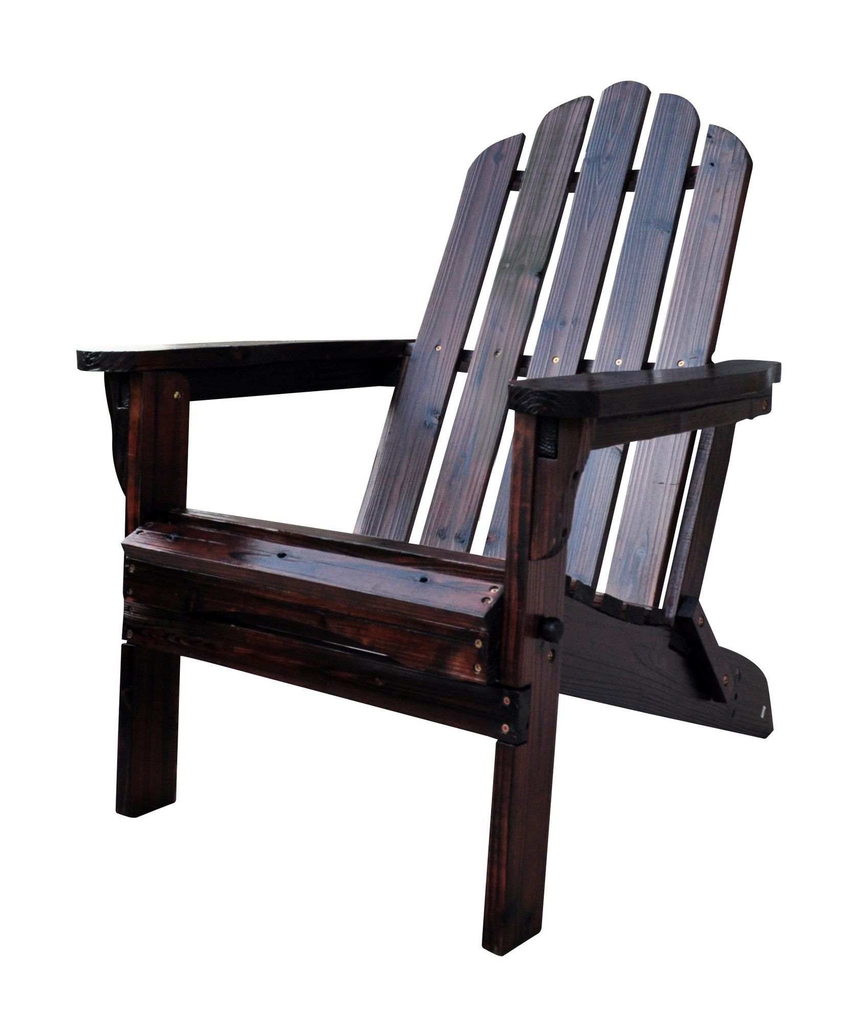 Cuyler Solid Wood Folding Adirondack Chair Folding chair