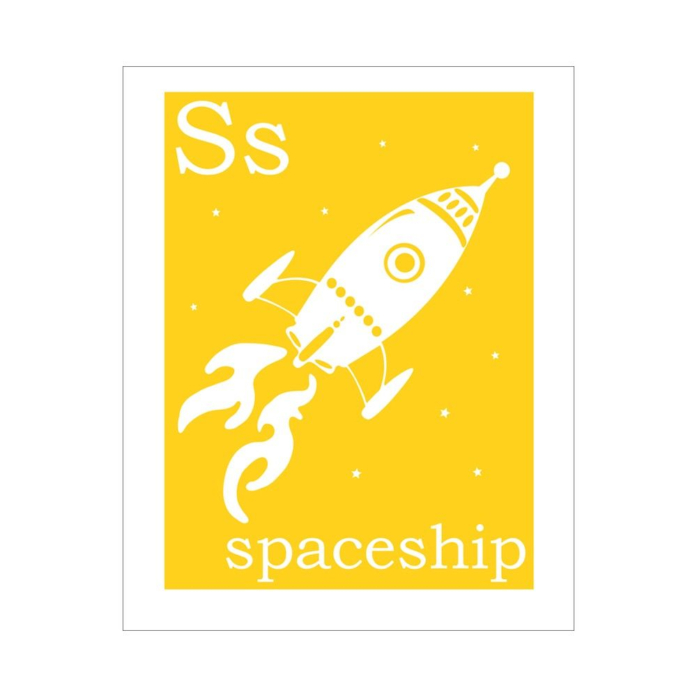 Children\'s Wall Art / Nursery Decor S is for by FinnyAndZook, $14.00 ...