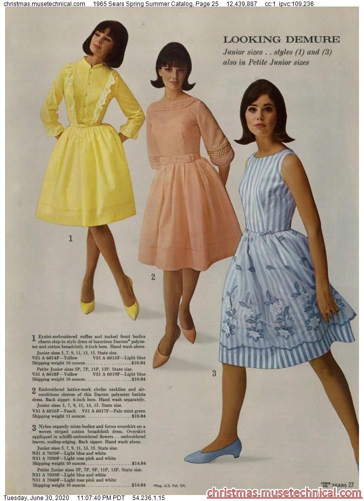1965 Sears Spring Summer Catalog, Page 25 - Christ