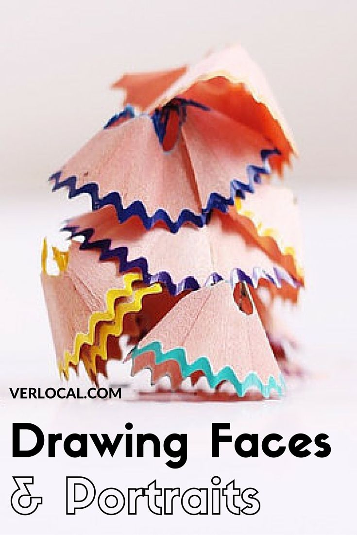 Learn to draw all faces!  Come join us for this one day workshop!  #Seattle #Drawing #Realistic