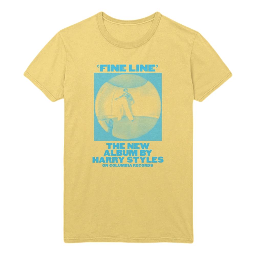 Harry Line UNISEX T-shirt Fine Lyric Double Adore Print Music Tour Direction Tee