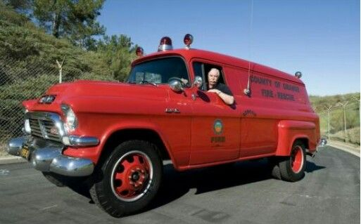 This 1957 Orange County Fire Unit Was Recently Restored By The